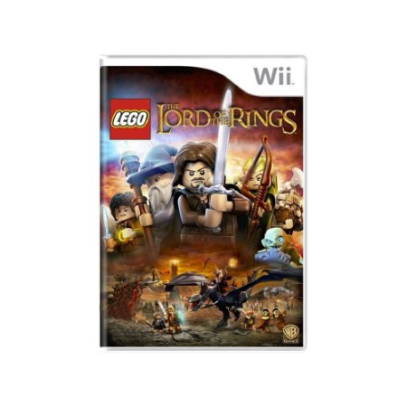LEGO The Lord of the Rings  - Usado - Wii