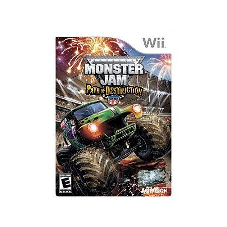 Monster Jam: Path of Destruction - Usado - Wii