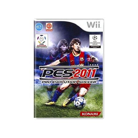 Pro Evolution Soccer 2011 (PES 11) - Usado - Wii