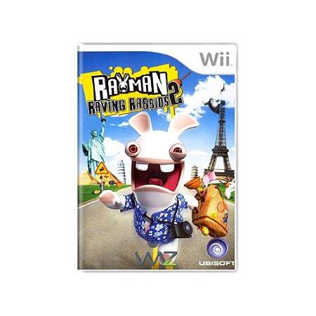 Rayman Raving Rabbids 2 - Usado - Nintendo Wii
