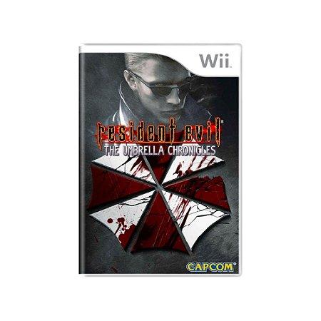 Resident Evil The Umbrella Chronicles - Usado - Wii