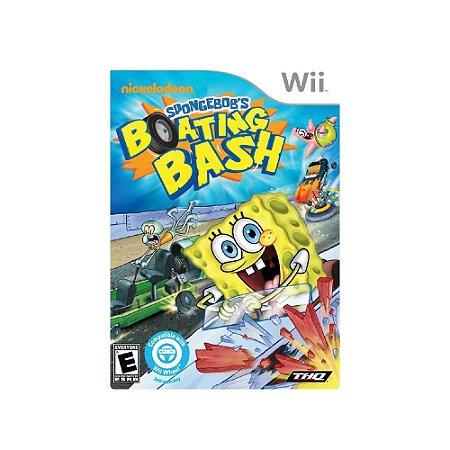 Spongebob's: Boating Bash - Usado - Wii
