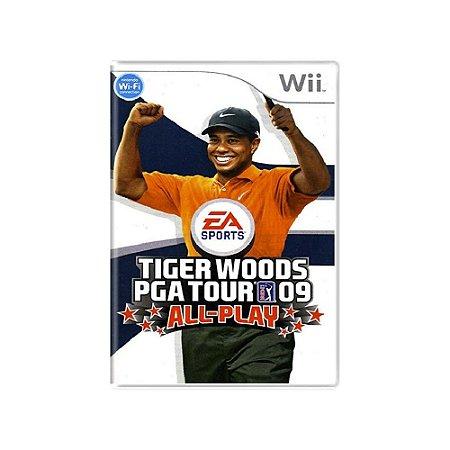 Tiger Woods PGA Tour 09 All-Play - Usado - Wii