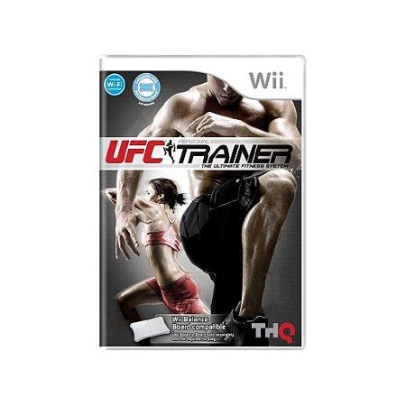 UFC Personal Trainer - Usado - Wii