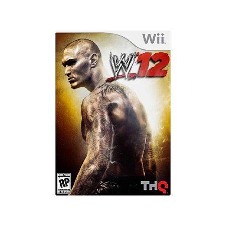 WWE 12 - Usado - Wii