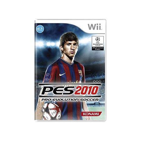 Pro Evolution Soccer 2010 (PES 10) - Usado - Wii