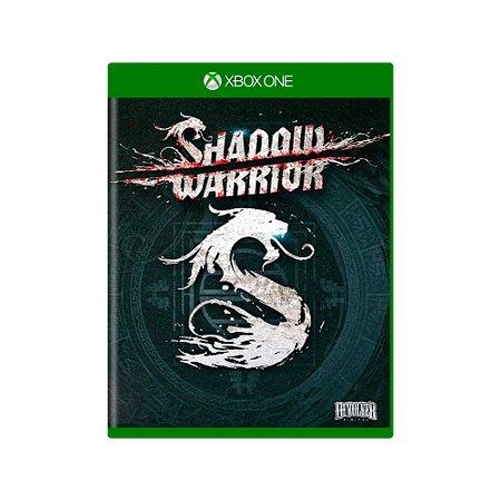 Shadow Warrior - Usado - Xbox One