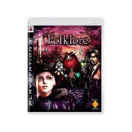 Folklore - Usado - Ps3