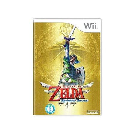 The Legend of Zelda: Skyward Sword - Usado- Wii