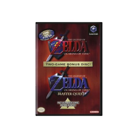 The Legend Of Zelda Ocarina Of Time - Usado - GameCube