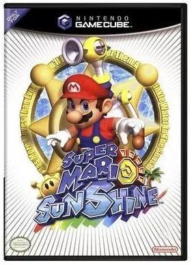 Super Mario Sunshine Nintendo - |Usado| - Gamecube