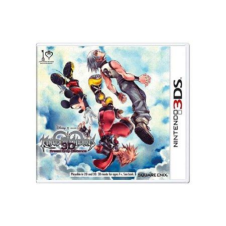 Jogo Kingdom Hearts 3D: Dream Drop Distance - |Usado| - 3DS