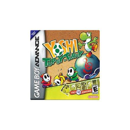 Yoshi Topsy-Turvy - Usado - Game Boy Advance