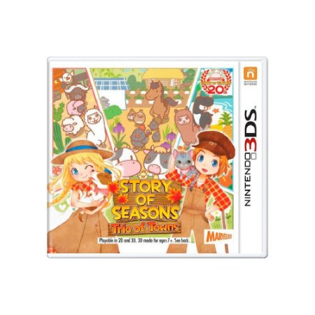 Story of Seasons: Trio of Towns - Usado - 3DS