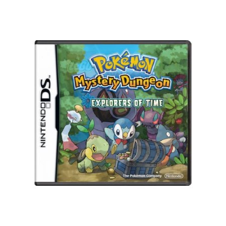 Pokémon Mystery Dungeon: Explorers of Time - Usado - Ds