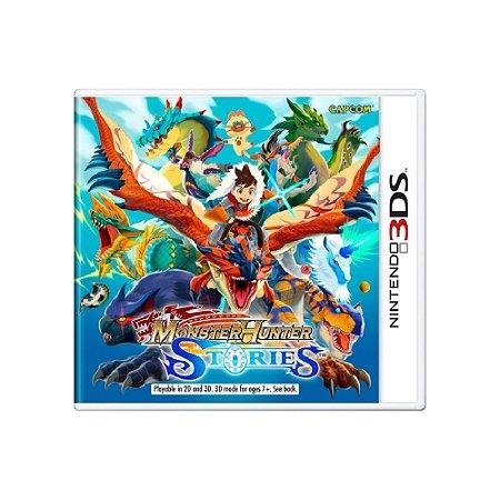 Monster Hunter Stories - Usado - 3DS