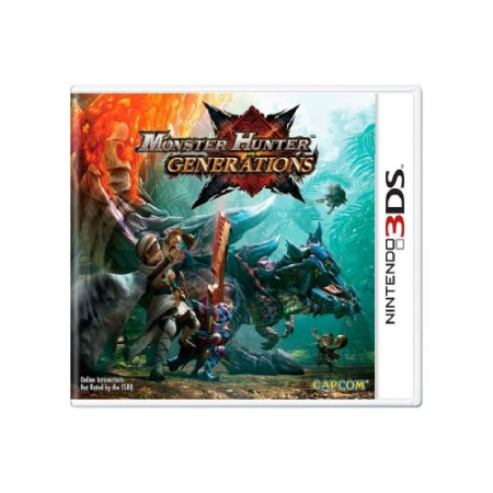 Jogo Monster Hunter Generations - |Usado| - 3DS