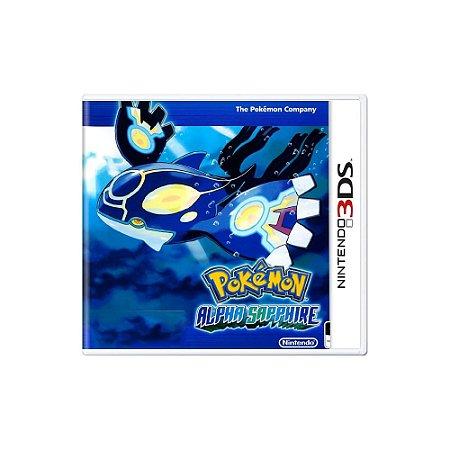 Pokémon: Alpha Sapphire - Usado - 3DS