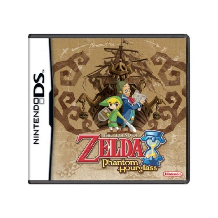 The Legend of Zelda: Phantom Hourglass - Usado - DS