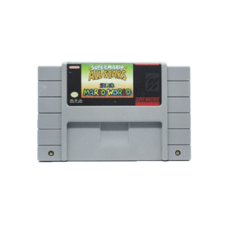 Super Mario All Stars + Super Mario World - Usado - SNES