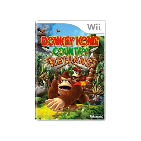 Donkey Kong Country Returns - Usado -  Wii