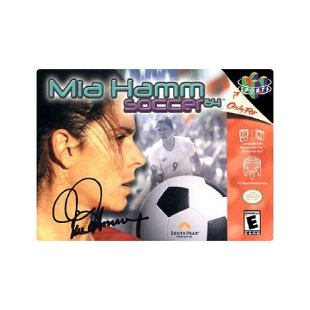 Mia Hamm Soccer 64 - Usado - Nintendo 64