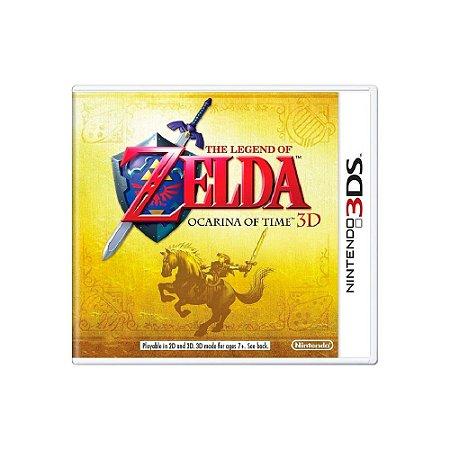 The Legend of Zelda: Ocarina of Time 3D - Usado - 3DS