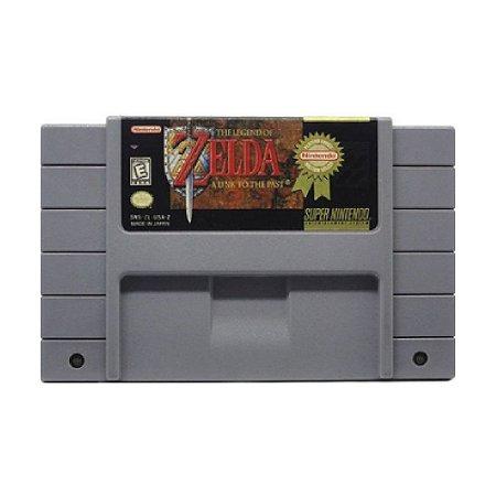 The Legend of Zelda: A Link to the Past - Usado - SNES