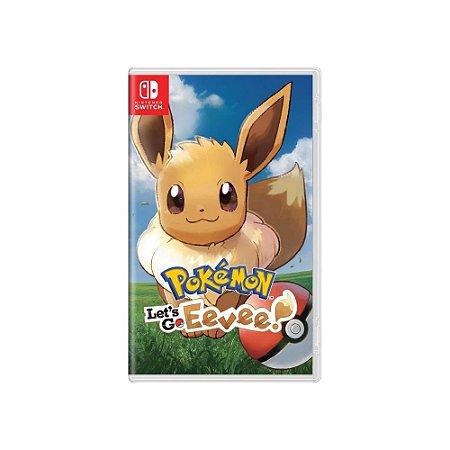 Pokémon: Let's Go, Eevee! - Usado - Switch