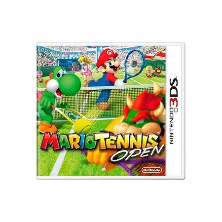 Mario Tennis Open - Usado - 3DS