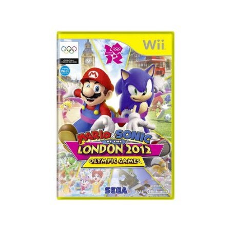 Mario & Sonic at the London 2012 Olympic Games - Usado - Wii
