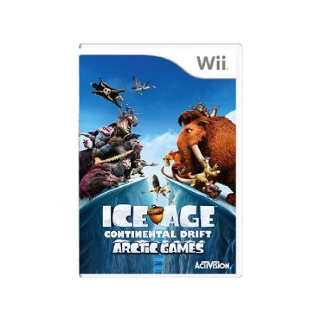 Ice Age: Continental Drift - Usado - Wii