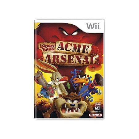Jogo Looney Tunes: Acme Arsenal - |Usado| - Wii