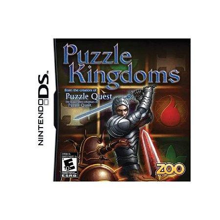 Puzzle Kingdoms - Usado - Ds