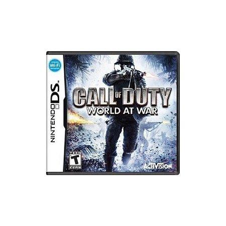 Jogo Call of Duty World at War - |Usado| - Ds