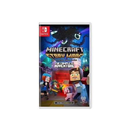 Minecraft Story Mode (Complete Adventure) - Usado - Switch
