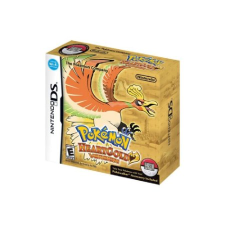 Pokémon HeartGold Version + Pokéwalker - Usado - DS
