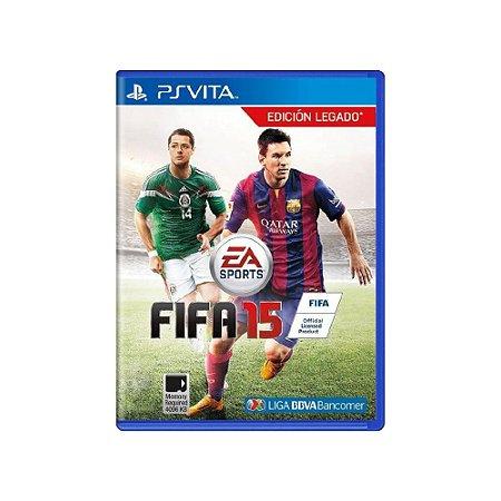 FIFA 15 - Usado - PS Vita
