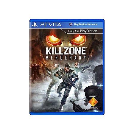 Killzone: Mercenary - Usado - Ps Vita
