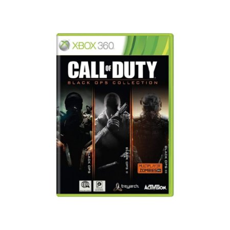 Call of Duty: Black Ops Collection - Usado - Xbox 360