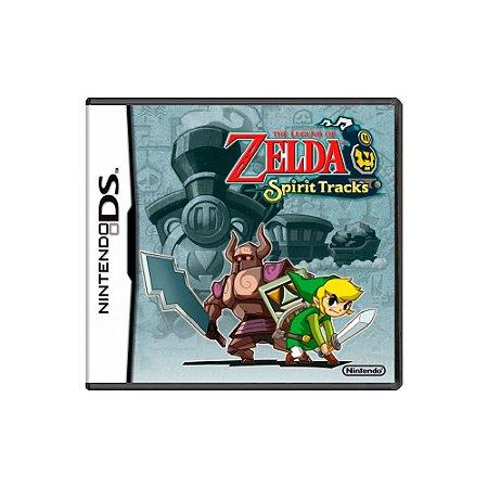 The Legend of Zelda Spirit Tracks (Sem Capa) - Usado - DS