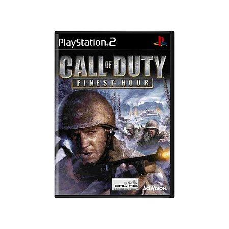 Jogo Call of Duty: Finest Hour - |Usado| - PS2