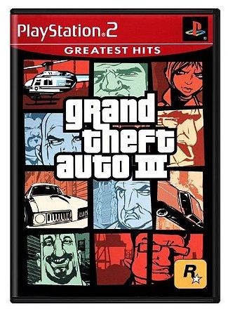 Grand Theft Auto -  Usado  - Ps2