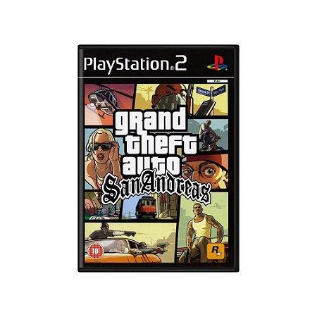 Grand Theft Auto: San Andreas - Usado - PS2