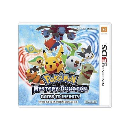 Pokémon Mystery Dungeon Gates to Infinity - Usado - 3DS