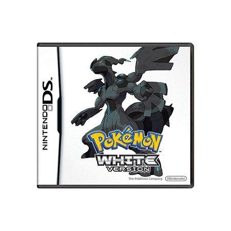 Pokémon White Version - Usado - DS