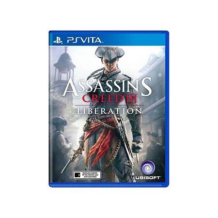 Jogo Assassin's Creed III: Liberation - |Usado| - Ps Vita
