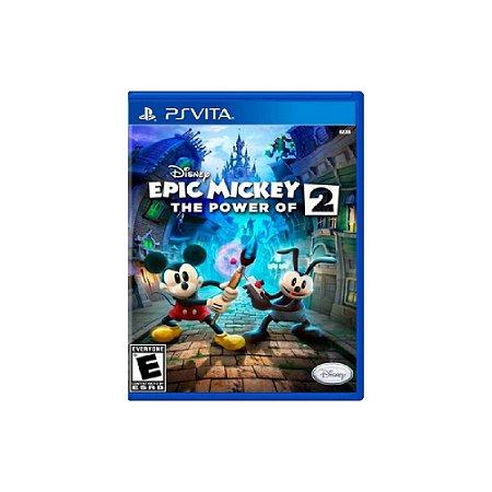Disney Epic Mickey 2: The Power of Two - Usado - PS Vita
