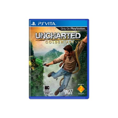 Uncharted: Golden Abyss - Usado - Ps Vita