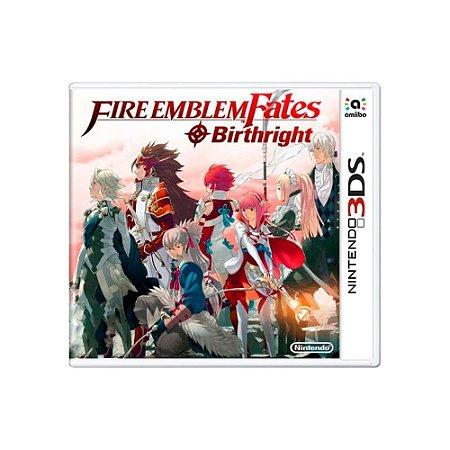 Fire Emblem Fates: Birthright - Usado - 3DS